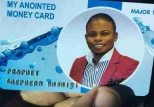 Malawi Pastor, Prophet Bushiri Develops ATM Cards For Tithe Payment In His Church (Photo)